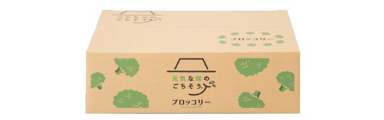 ブロッコリー梱包ボックス