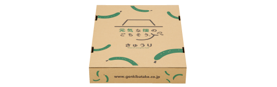 きゅうり梱包ボックス