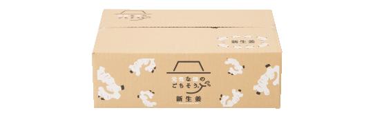 新生姜梱包ボックス
